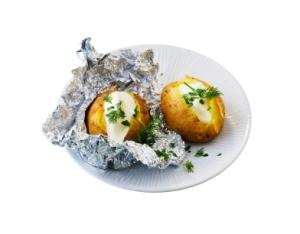 gevulde aardappelen met kaas