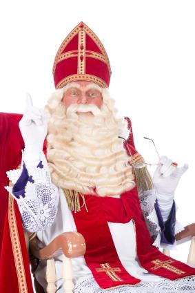 Sinterklaas op stoel