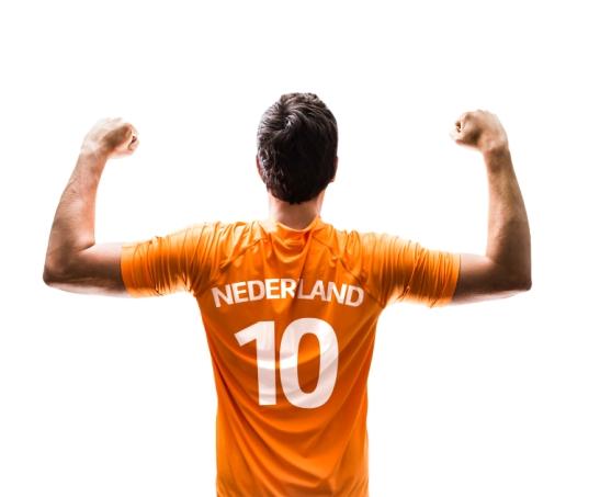 oranje voetbal shirt