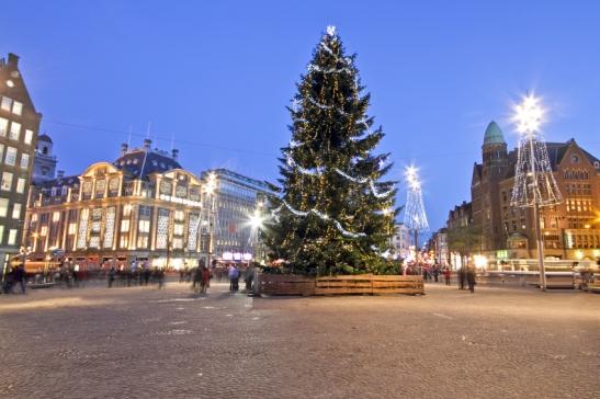 kerstmis amsterdam
